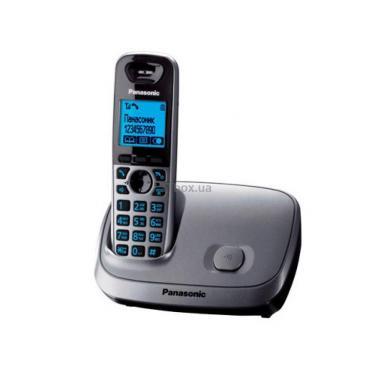 Телефон DECT Panasonic KX-TG6511UAT - фото 1