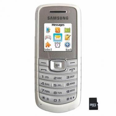 Мобильный телефон GT-E1080i White Samsung (GT-E1080ZWW) - фото 1