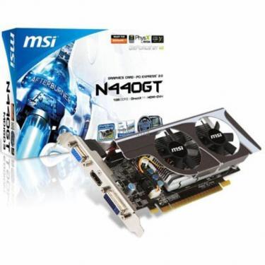 Відеокарта GeForce GT440 1024Mb MSI (N440GT-MD1GD3/LP) - фото 1