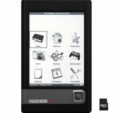 Електронна книга Pocketbook 301 plus Бейсик Black (897195002090/897195002007) - фото 1