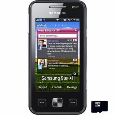 Мобільний телефон GT-C6712 (Star II Duos) Noble Black Samsung (GT-C6712LKA) - фото 1