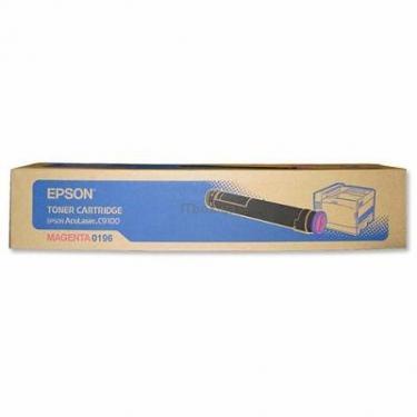 Картридж EPSON AcuLaser C9100 magenta (C13S050196) - фото 1