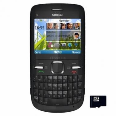 Мобільний телефон C3-00 Black Nokia (2) - фото 1