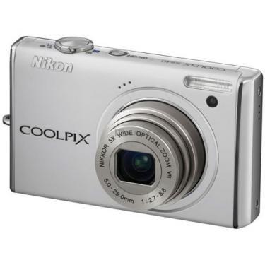Цифровой фотоаппарат Coolpix S640 white Nikon (VMA473E1) - фото 1