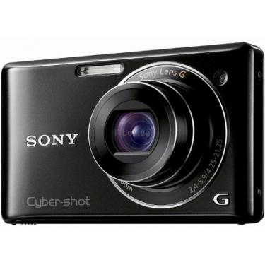 Цифровий фотоапарат Cybershot DSC-W390 black SONY (DSC-W390B) - фото 1