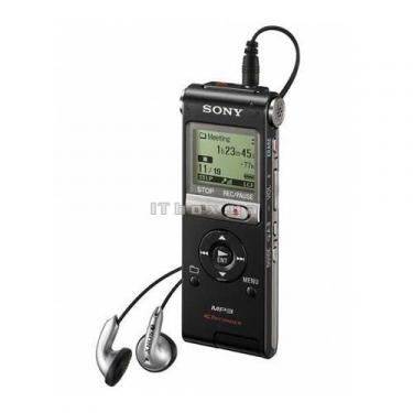 Цифровой диктофон ICD-UX200B black SONY (ICD-UX200/BC) - фото 1
