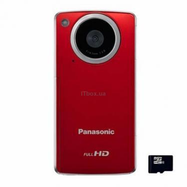Цифровая видеокамера HM-TA1EE-R red PANASONIC - фото 1