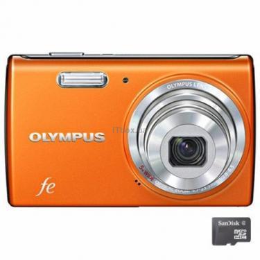 Цифровий фотоапарат FE-5040 copper orange OLYMPUS (N3871592) - фото 1