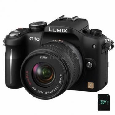 Цифровой фотоаппарат DMC-G10 14-42mm kit PANASONIC (DMC-G10KGC-K 14-42mm) - фото 1