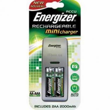 Зарядний пристрій для акумуляторів + 2xАА 2450 mAh Energizer (50132/7638900317589) - фото 1