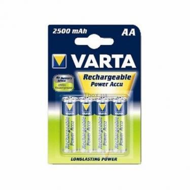 Аккумулятор AA Power Accu 2500mAh * 4 Varta (56776101404) - фото 1