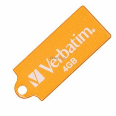 USB флеш накопитель 4Gb Store 'n' Go Micro volcanic ora Verbatim (47421) - фото 1