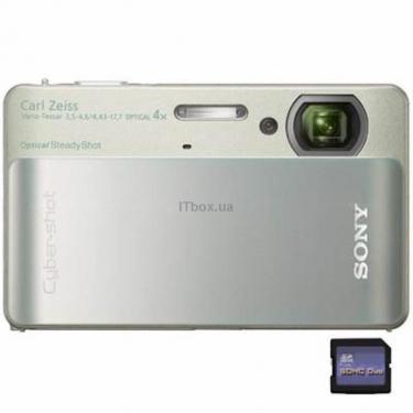 Цифровой фотоаппарат Cyber-shot DSC-TX5 silver Sony (DSCTX5S.CEE2) - фото 1