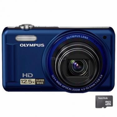 Цифровой фотоаппарат VR-320 blue Olympus (N4300292) - фото 1