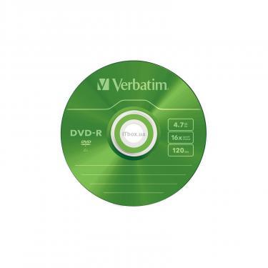 Диск DVD Verbatim 4.7Gb 16X Slim case 5 шт Color (43557) - фото 6