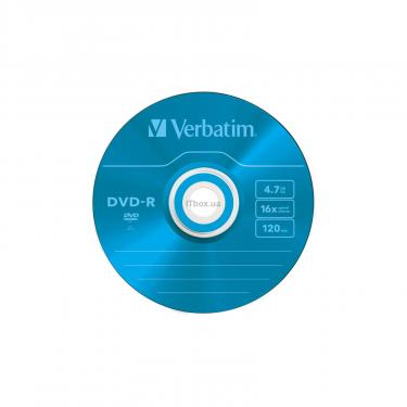 Диск DVD Verbatim 4.7Gb 16X Slim case 5 шт Color (43557) - фото 7