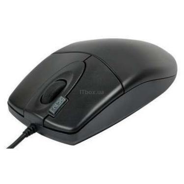 Мишка A4tech OP-620D BLACK-PS - фото 1