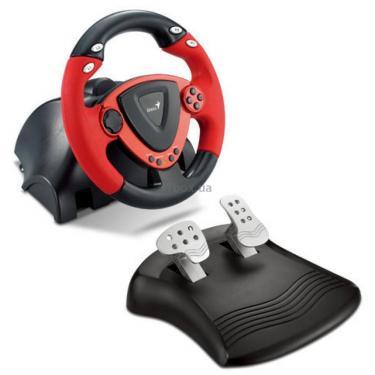 Руль Genius TwinWheel ForceFeedback (PC&PS2) (31620025100) - фото 1