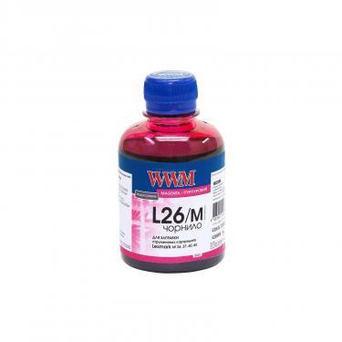 Чорнило WWM Lexmark 26/27(10N0026/0227)Magenta (L26/M) - фото 1