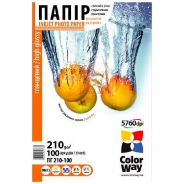 Папір ColorWay 10x15 (ПГ210-100) (PG2101004R) - фото 1