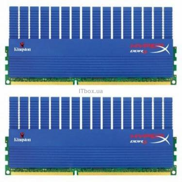 Модуль памяти для компьютера DDR3 4GB (2x2GB) 1600 MHz Kingston (KHX1600C9D3T1K2/4GX) - фото 1