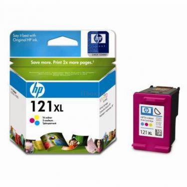 Картридж HP DJ No.121XL D2563/F4283 color (CC644HE) - фото 1
