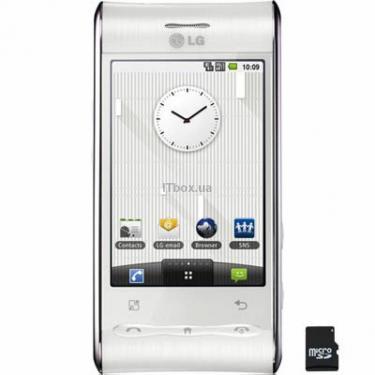 Мобільний телефон GT540 Pearl White (Optimus) LG (GT540 WP) - фото 1