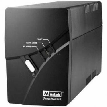 Источник бесперебойного питания PowerAgent 848 LCD USB Mustek (PowerAgent 848 LCD) - фото 1