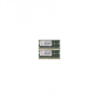 Модуль памяти для ноутбука SoDIMM DDR3 8GB (2x4GB) 1333 MHz G.Skill (FA-10666CL7D-8GBSQ) - фото 1