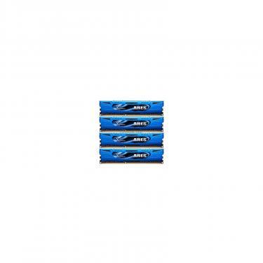 Модуль памяти для компьютера DDR3 16GB (4x4GB) 1600 MHz G.Skill (F3-1600C9Q-16GAB) - фото 1