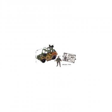 Игровой набор Chap Mei Солдаты 7 (военный джип) Фото 1