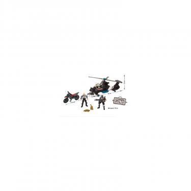Игровой набор Chap Mei Полиция 2 (спецназовец и бандит) Фото 1