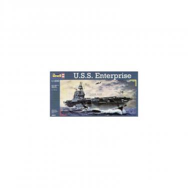 Сборная модель Revell Авианосец U.S.S. Enterprise 1:1200 Фото