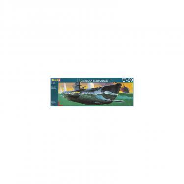 Сборная модель Revell Немецкая пдводная лодка U99 U-Boat 1:125 Фото