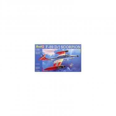 Сборная модель Revell Самолет-перехватчик F-89 D/J Scorpion 1:72 Фото