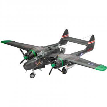 Сборная модель Revell Тяжелый ночной истребитель P-61B Black Widow 1:48 Фото 1