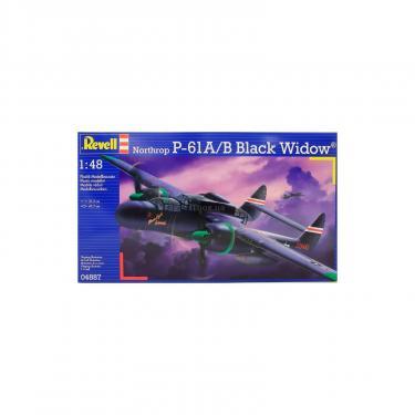 Сборная модель Revell Тяжелый ночной истребитель P-61B Black Widow 1:48 Фото