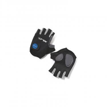 Перчатки для фитнеса XLC CG-S05 Columbia, черно-серые, L (2500140200) - фото 1