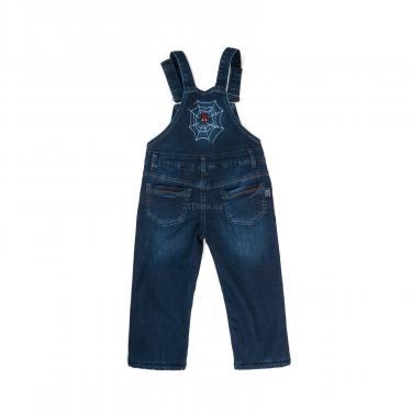 Комбинезон A-Yugi джинсовый утепленный (1074-98B-blue) - фото 2
