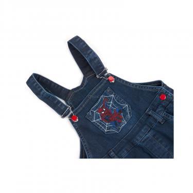 Комбинезон A-Yugi джинсовый утепленный (1074-98B-blue) - фото 4