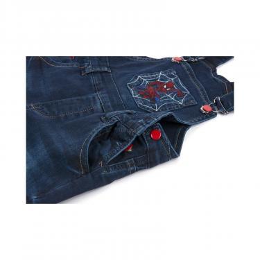 Комбинезон A-Yugi джинсовый утепленный (1074-98B-blue) - фото 5