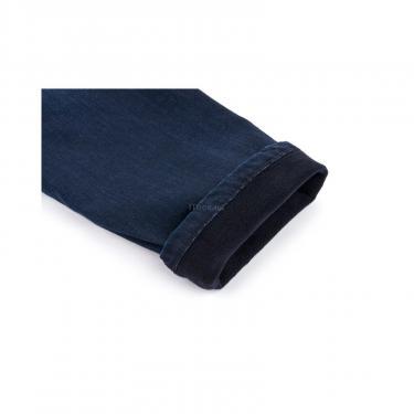 Комбинезон A-Yugi джинсовый утепленный (1074-98B-blue) - фото 6