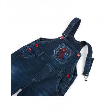 Комбинезон A-Yugi джинсовый утепленный (1074-98B-blue) - фото 7