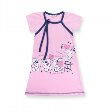 """Пижама Matilda и халат с мишками """"Love"""" (7445-140G-pink) - фото 3"""