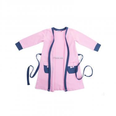 """Пижама Matilda и халат с мишками """"Love"""" (7445-140G-pink) - фото 4"""
