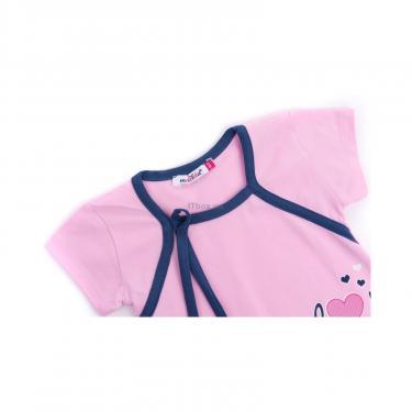 """Пижама Matilda и халат с мишками """"Love"""" (7445-140G-pink) - фото 6"""