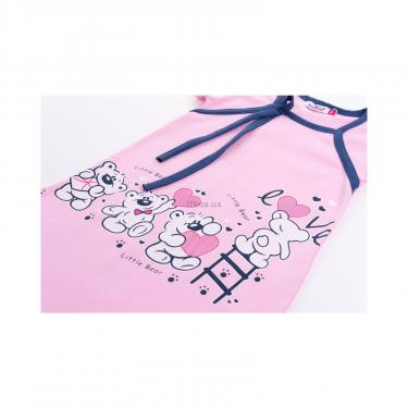 """Пижама Matilda и халат с мишками """"Love"""" (7445-140G-pink) - фото 8"""