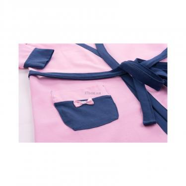 """Пижама Matilda и халат с мишками """"Love"""" (7445-140G-pink) - фото 9"""
