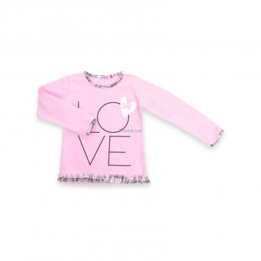 """Пижама Matilda с сердечками """"Love"""" (7585-128G-pink) - фото 2"""