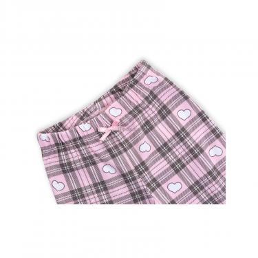 """Пижама Matilda с сердечками """"Love"""" (7585-128G-pink) - фото 7"""